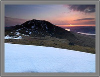 A 02631 Sunrise over Ben Lawers and Loch Tay seen from Beinn Ghlas