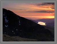 A 02657 Sunrise over Ben Lawers and Loch Tay seen from Beinn Ghlas