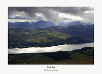 The view south over Loch Tay from the slopes of Beinn Ghlas