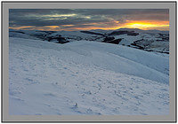 S2013983 Sunset over Tweedsmuir and the Culter Fells from Grey Yade