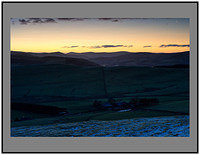 S2015767 Dawn breaking over the Border hills
