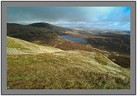 L1000112 Loch Skeen and Loch Craig from White Coomb
