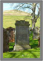 L1012193 The grave of James Hogg the Ettrick Shepherd Ettrick Kirk