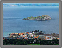 A 09576 North Berwick Harbour from North Berwick Law