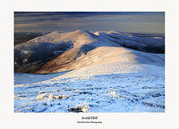 The Pentland Hills-Scald Hill from Carnethy Hill