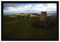 46E4575 The Trig point on Culter Fell