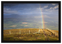 46E4850 Culter Fell through a rainbow from Tinto