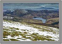 S2015618 Winter on Coulter Reservoir Hudderstone and a distant Tinto Hill seen from the slopes of Gathersnow Hill