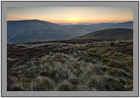 S2016323 Sunrise over Culter Fell and the Tweedsmuir Hills from Hudderstone