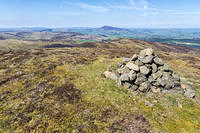 S2017572 The cairn on Cardon Hill with Tinto Hill beyond
