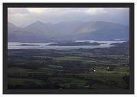 46E1063 Evening light on Loch Lomond and the Luss Hills from Dumgoyne