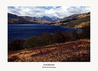The Arrochar Alps and Loch Katrine