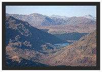 46E0813 Loch Sloy from Ben Lomond's Ptarmigan Ridge