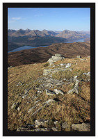 46E0824 The Arrochar Alps from Ben Lomond's Ptarmigan Ridge