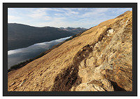 46E0852 The Arrochar Alps from Ben Lomond's Ptarmigan Ridge
