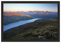 46E3524 First light on the Arrochar Alps