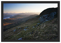 46E3542 First light on the Central Highlands from Ben Lomond