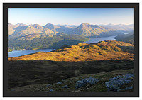 46E3583 Daybreak on Loch Lomond from the Ptarmigan Ridge
