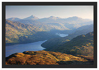 46E3595 Daybreak on Loch Lomond and Beinn Laoigh from the Ptarmigan Ridge