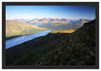 46E3624 First light on Loch Lomond and the Arrochar Alps from Ben Lomond