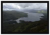 46E3790 Loch Katrine from Ben A'an