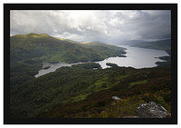 46E3815 Ben Venue and Loch Katrine from Ben A'an