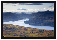 46E4887 Loch Katrine from Ben Venue