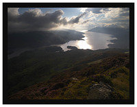 7290597 Evening light on Loch Katrine from Ben A'an