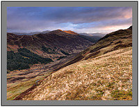 A08138 Daybreak on Glen Ample and Meall nan Oighreag