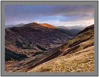 A08145 Daybreak on Glen Ample and Meall nan Oighreag