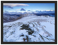 A 01292 The Arrochar Alps from Beinn Bhreac
