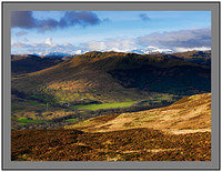 A 7205 The Crianlarich Mountains over Glen Buckie