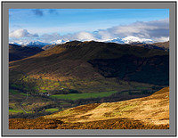 A 7212 The Crianlarich Mountains over Glen Buckie