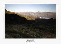 Looking from Coire Dhaidh to Loch Katrine and Stob Binnein