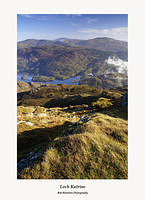 Loch Katrine Stuc a Chroin Ben A'an and Ben Ledi from Ben Venue