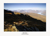 Ben Lomond the Arrochar Alps and Lochs Arklet and Katrine from Ben Venue