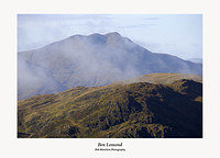 Ben Lomond from Ben Venue