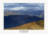The Crianlarich Hills from Beinn Each