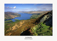 Loch Katrine from Ben A'an