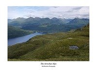 The Arrochar Alps from Ben Lomond's Ptarmigan Ridge