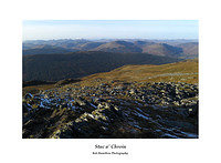 L1000616 Stob Binnein Ben More and Lochearnhead from Stuc a' Chroin