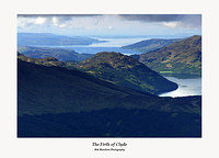 The Firth of Clyde from Ben Donich