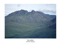 The Cobbler from Ben Lomond's Ptarmigan Ridge