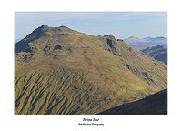 Beinn Ime from The Cobbler with Beinn Laoigh in the distance