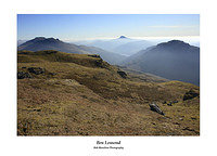 The Cobbler Ben Lomond and The Brack from Ben Donich