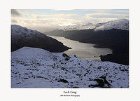 Loch Long from Cruach Tairbeirt