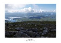 Loch Awe from Meall Cuanail