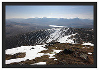 46E2323 The view south from the summit of Stob a Choire Odhair