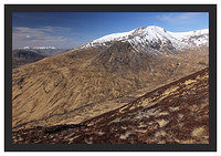 46E2331 Stob Ghabhar Coire Toaig and the Ben Cruachan massif from the flanks of Coire Odhair