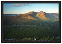 46E3645 First light on Stob a' Glais Choire from Beinn a'Chrulaiste